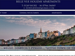 https://www.bellevueapartmentstenby.co.uk/ website