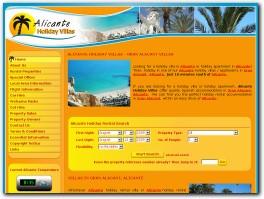 https://www.alicanteholidayvillas.com/ website