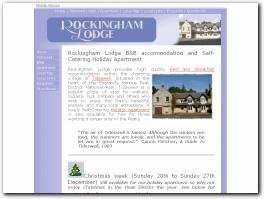 http://www.rockinghamlodge.co.uk/ website