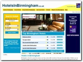 http://www.hotelsinbirmingham.co.uk website