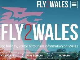 https://www.fly2wales.co.uk/ website