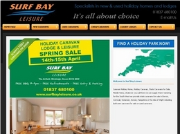 https://www.surfbayleisure.co.uk website