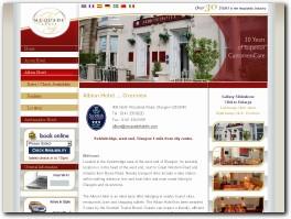 https://glasgowhotelsandapartments.co.uk/home/albion-hotel/ website