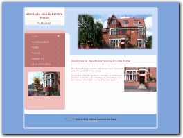https://www.hawthornhousehotel.co.uk website