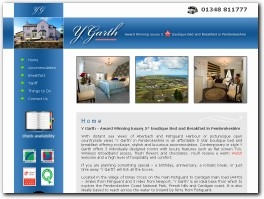 https://bedandbreakfast-pembrokeshire.co.uk/ website
