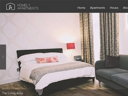 https://www.homelyapartments.co.uk/ website