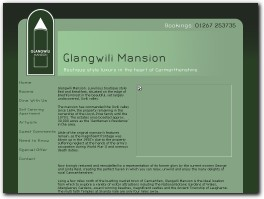 https://www.glangwilimansion.co.uk website