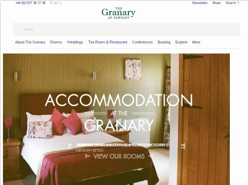 https://www.granary-weddings.com/ website