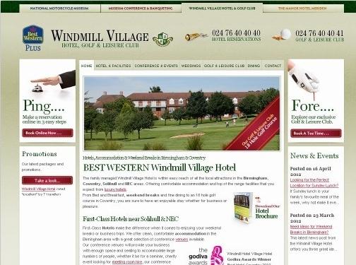 http://www.windmillvillagehotel.co.uk/ website