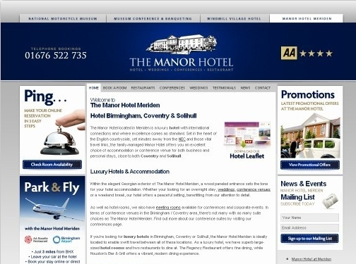 http://www.manorhotelmeriden.co.uk/ website