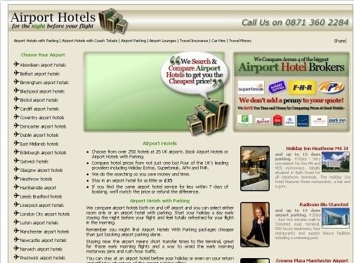 https://www.airport-hotels.co.uk website