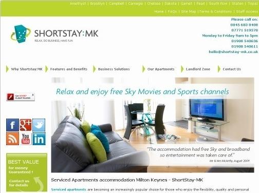https://www.shortstay-mk.co.uk/ website