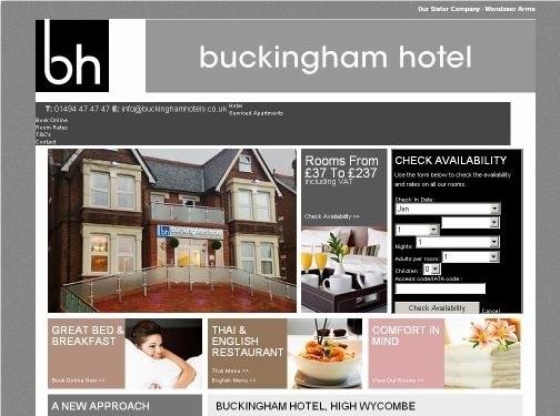 http://www.buckinghamhoteluk.com/ website