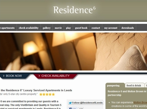 http://www.residencesix.com/ website