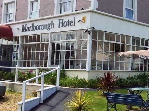 http://marlboroughhotelshanklin.co.uk website
